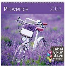 Стенен календар - Provence 2022 -