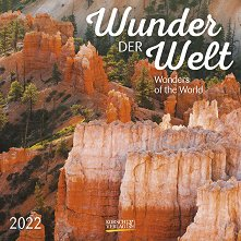 Стенен календар - Wunder der Welt 2022 -