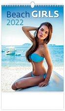 Стенен календар - Beach Girls 2022 -