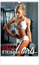 Стенен календар - Fitness Girls 2022 -