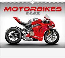 Стенен календар - Motorbikes 2022 -