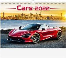 Стенен календар - Cars 2022 -