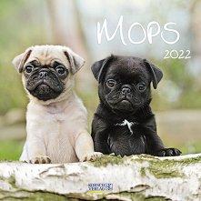 Стенен календар - Mops 2022 -