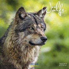 Стенен календар - Wolves 2022 -