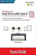 USB A / Type-C 3.1 флаш памет 16 GB - Dual Drive