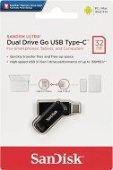 USB A / Type-C 3.2 флаш памет 32 GB - Dual Drive Go