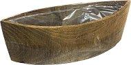 Дървена кашпа - Миша