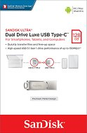 USB A / Type-C 3.1 флаш памет 128 GB - Dual Drive Luxe