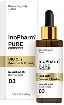 InoPharm Pure Elements BIO Oils Primrose & Rosehip -