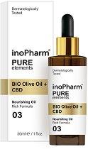 InoPharm Pure Elements BIO Olive Oil + CBD -