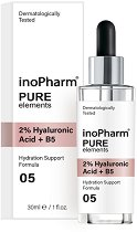 InoPharm Pure Elements 2% Hyaluronic Acid + B5 -