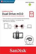 USB A / micro USB 3.0 флаш памет 64 GB - Dual Drive