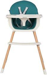 Детско столче за хранене 2 в 1 - Nutri Wood -