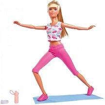Стефи прави гимнастика -