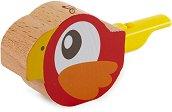 Дървена свирка - Папагалче -
