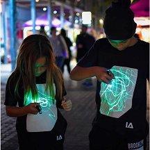 Детска светеща тениска -