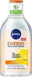 Nivea Energy Micellar Water - серум