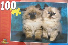 Сиямски котенца - пъзел