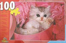 Коте в прежда - пъзел