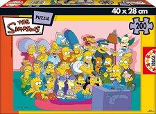 Семейство Симпсън - пъзел