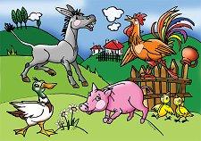 Празник в селския двор - пъзел