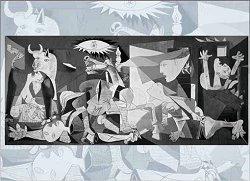 Герника (1937) - Пабло Пикасо (Pablo Picasso) -