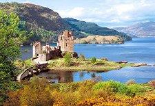 Замъкът Елън Донан, Шотландия - пъзел