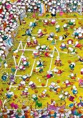 Футболна треска - Гилермо Мордильо (Guillermo Mordillo) - пъзел
