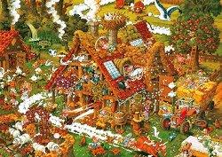 Веселата ферма - Михаел Рюба (Michael Ryba) - пъзел
