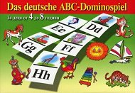 Картинно домино - Азбука на немски език - Образователна игра -
