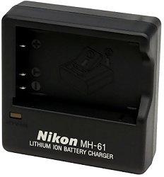 Зарядно Nikon MH-61 - За батерия Nikon EN-EL5 -