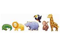 Мармозет и неговите приятели - Шест пъзела - Голям детски пъзел - пъзел
