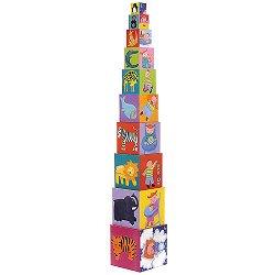 Пирамида от кубчета - Забава - играчка