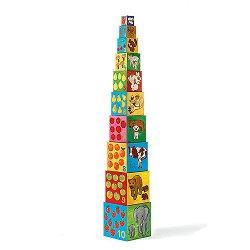 Пирамида от кубчета - Моите приятели - творчески комплект