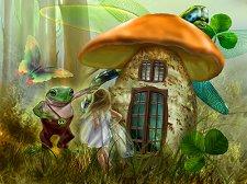 Къщичката на жабока - пъзел