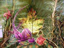 Вълшебни растения - пъзел