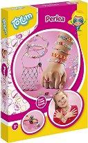 Създай сама - Перлени бижута - Творчески комплект - кукла