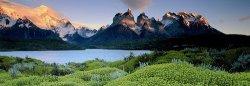 """Cuernos del Paine - панорама - Колекция """"Александър Фон Хумболт"""" (Alexander von Humboldt) -"""