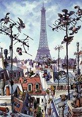 Айфеловата кула - Жан-Жак Люп (Jean-Jacques Loup) - пъзел