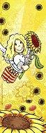 Анжелис - Ангел-хранител - Мини пъзел в жълто - пъзел