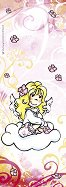 Анжелис - Ангел-хранител - Мини пъзел в розово - пъзел