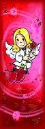 Анжелис - Ангел-хранител - Мини пъзел в червено -