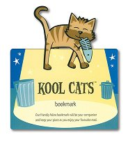 Разделител за книга - Котка -