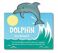 Разделител за книга с животни - Делфин -
