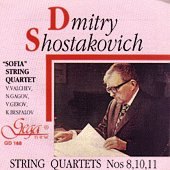 Dmitry Shostakovich - String quartet nos 8, 10, 11 - албум