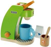 Детска кафе машина - Дървена играчка -