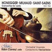 Robin Clavreul - 3 Concertos for cello -