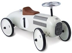 Детски метален спортен автомобил за каране - играчка