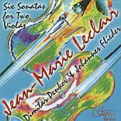 Димитър Пенков и Johanes Flieder - Jean-Marie Leclair - Sonatas -