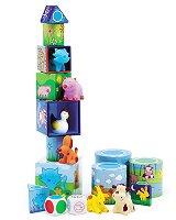 3 игри в 1 - Ludanimo - Кубчета и животни - играчка